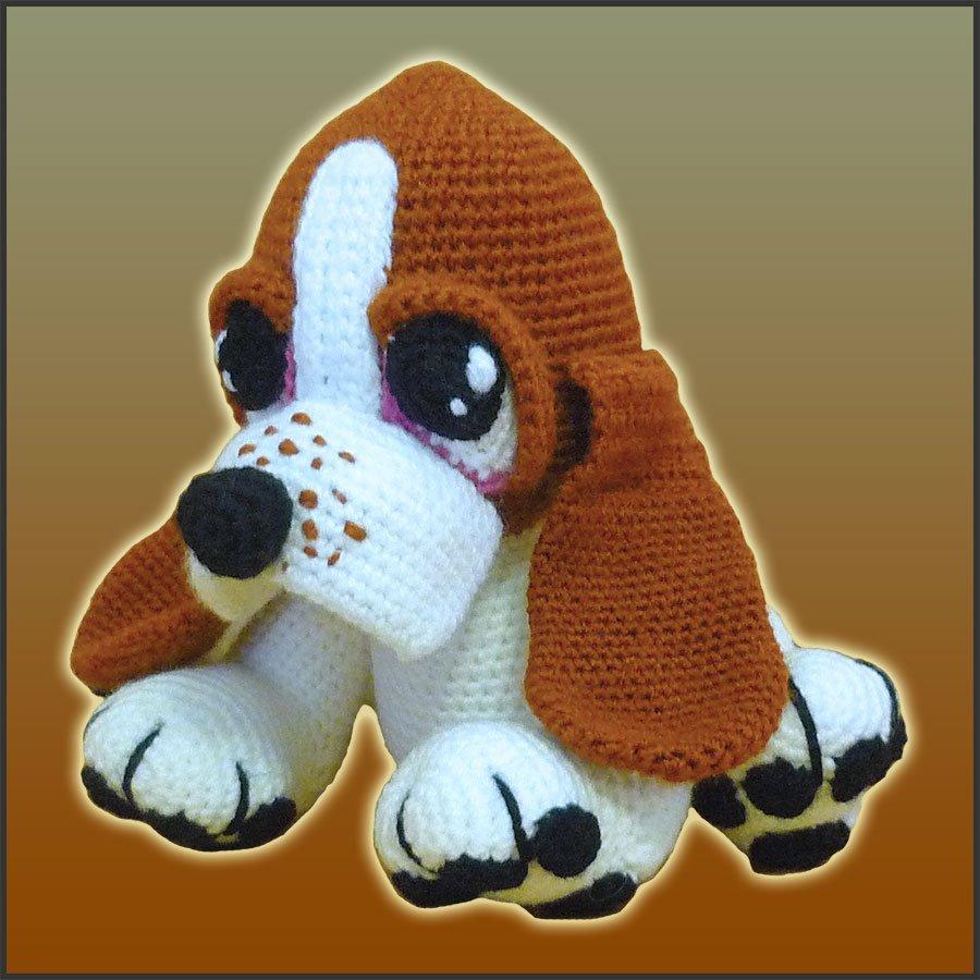 Boris, The Basset Hound Puppy – Amigurumi Pattern