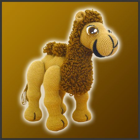 Joe, The Camel – Amigurumi Pattern