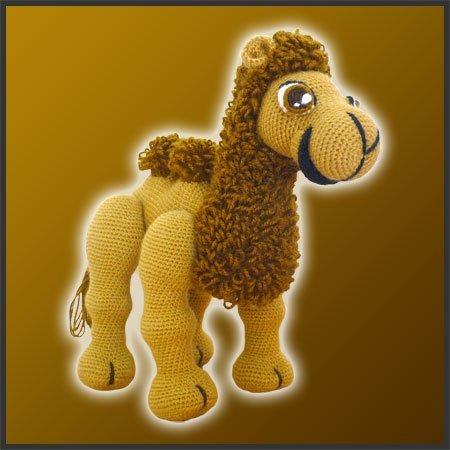 Joe, The Camel – Amigurumi Pattern