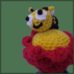 Flower Pot and Bee – Amigurumi Pattern