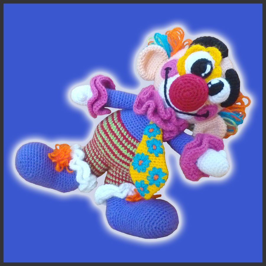 Miliki, The Clown – Amigurumi Pattern