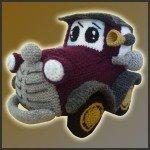 Classic Car – Amigurumi Pattern