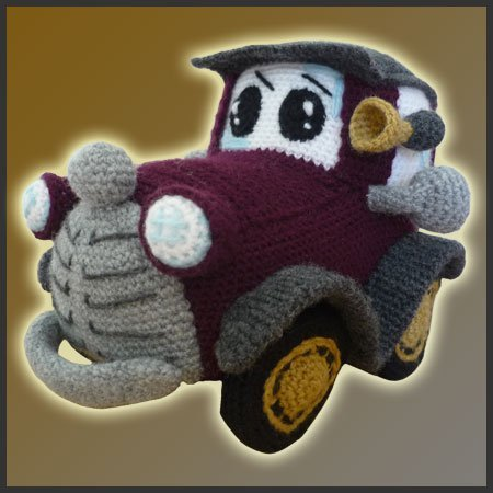 Classic Car Amigurumi Pattern Delicious Crochet