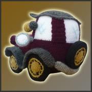 Patron Amigurumi Car : Classic Car - Amigurumi Pattern - Delicious Crochet