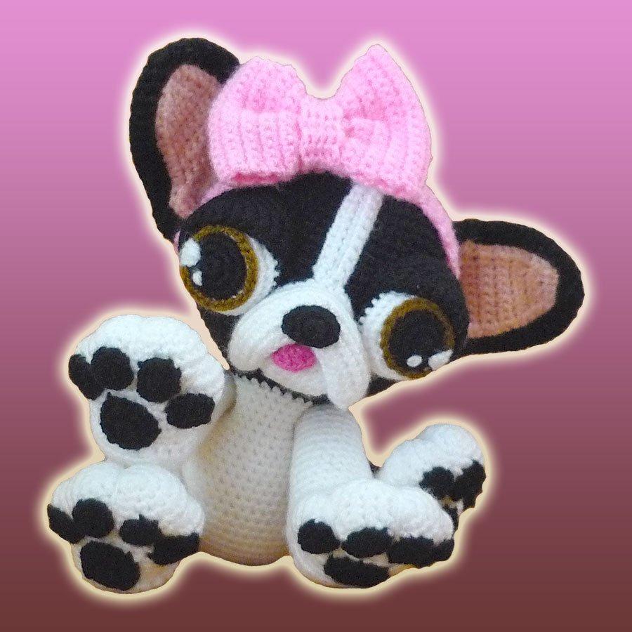 Dorothy, The French Bulldog Puppy – Amigurumi Pattern