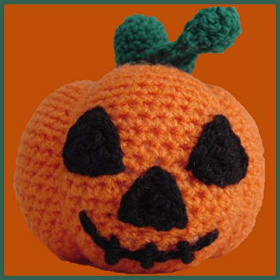 Halloween Pumpkin Amigurumi : Halloween Pumpkin - Amigurumi Pattern - Delicious Crochet