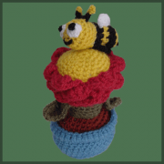Flower Pot and Bee