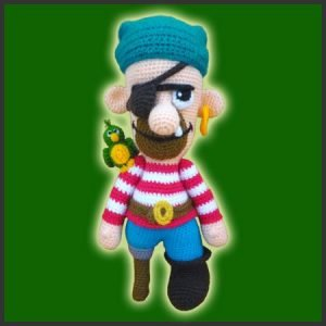 Czornomaz, The Pirate – Amigurumi Pattern