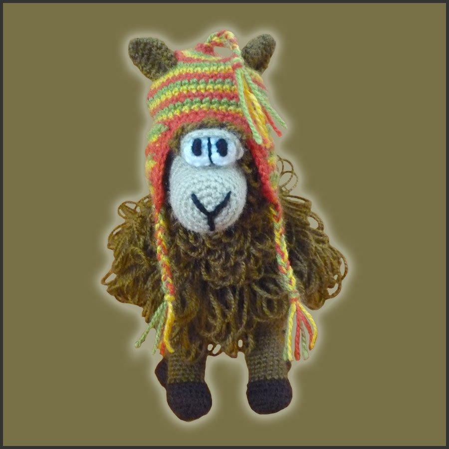 Llama – Amamani Puzzle Ball Pattern