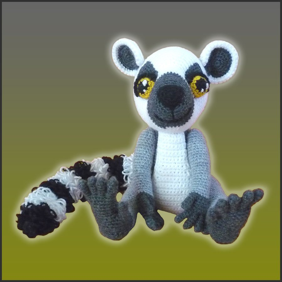 Lenny, The Lemur – Amigurumi Pattern