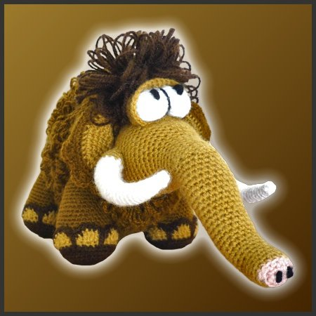 Moe, the Mammoth – Amigurumi Pattern