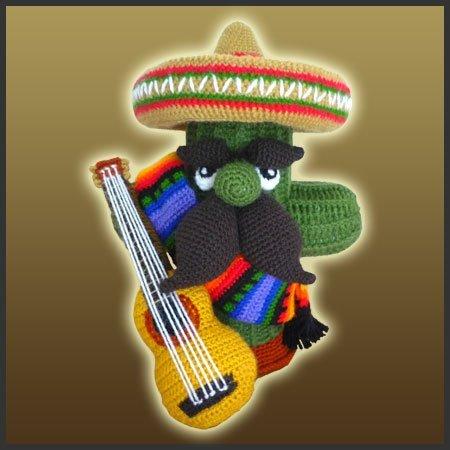 El Mariachi - Amigurumi Pattern - Delicious Crochet