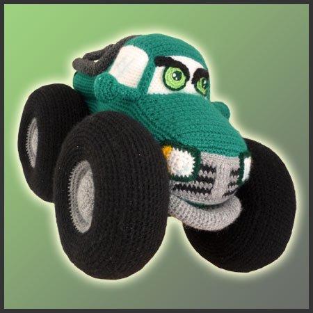 Amigurumi Monster Zeitschrift : Monster Truck - Amigurumi Pattern - Delicious Crochet