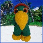 Paquito, The Parrot – Amigurumi Pattern