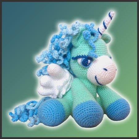 Peppermint, The Pegasus – Amigurumi Pattern