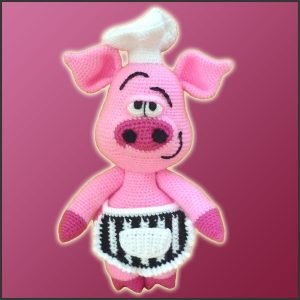 Pierre The Chef Pig