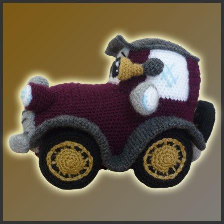 Amigurumi Free Pattern Car : Classic Car - Amigurumi Pattern - Delicious Crochet