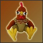 Evan, The Rooster – Amigurumi Pattern