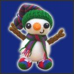 Frosty, The Snowman – Amigurumi Pattern