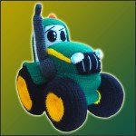 Johnny, The Tractor – Amigurumi Pattern