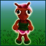 Abby, The Ant – Amigurumi Pattern