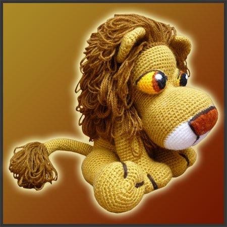 Lion King Amigurumi : Leonidas, The Lion - Amigurumi Pattern - Delicious Crochet