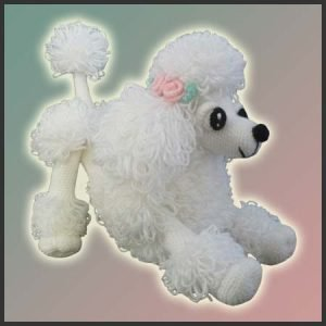 Lara The Poodle Toy