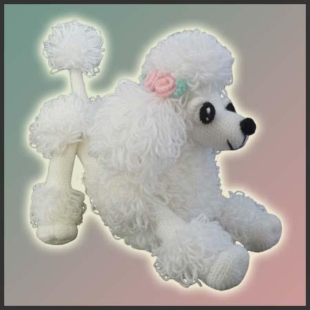 Lara The Poodle Toy