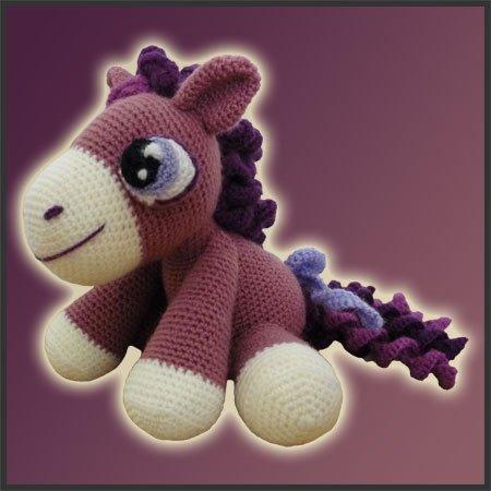 Heather, The Pony - Amigurumi Pattern - Delicious Crochet