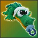 Baby Croco – Amigurumi Pattern