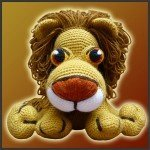 Leonidas, The Lion – Amigurumi Pattern