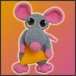 Donnie, The Mouse – Amigurumi Pattern