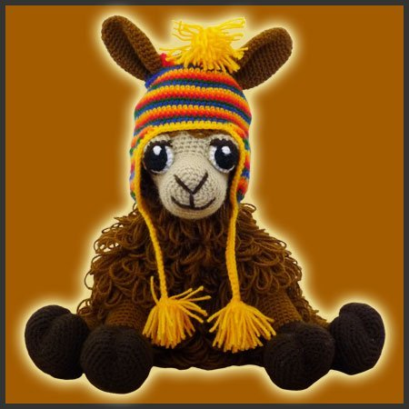 Coquena, The Llama - Amigurumi Pattern - Delicious Crochet