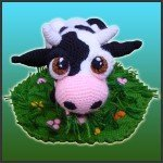 Aurora, The Cow – Amigurumi Pattern