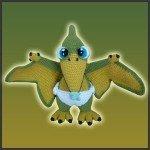 Baby Pterosaur – Amigurumi Pattern