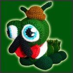 Sir Charles Caterpillar – Amigurumi Pattern
