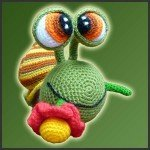 Melvin, The Snail – Amigurumi Pattern