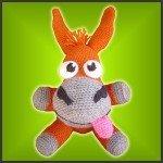 Looney Mule – Amigurumi Pattern