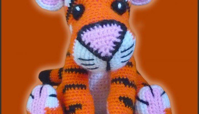 Tony, The Tiger – Amigurumi Pattern