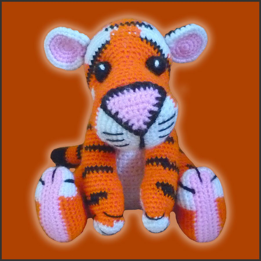 Tony, The Tiger – Amigurumi Pattern