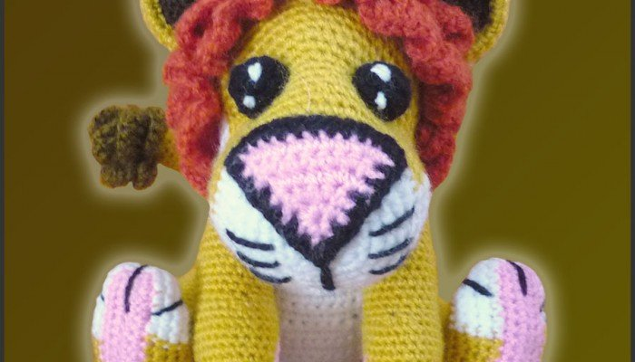 Lucas, The Lion – Amigurumi Pattern