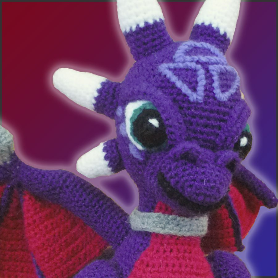 Cynder, The Dragon – Amigurumi Pattern