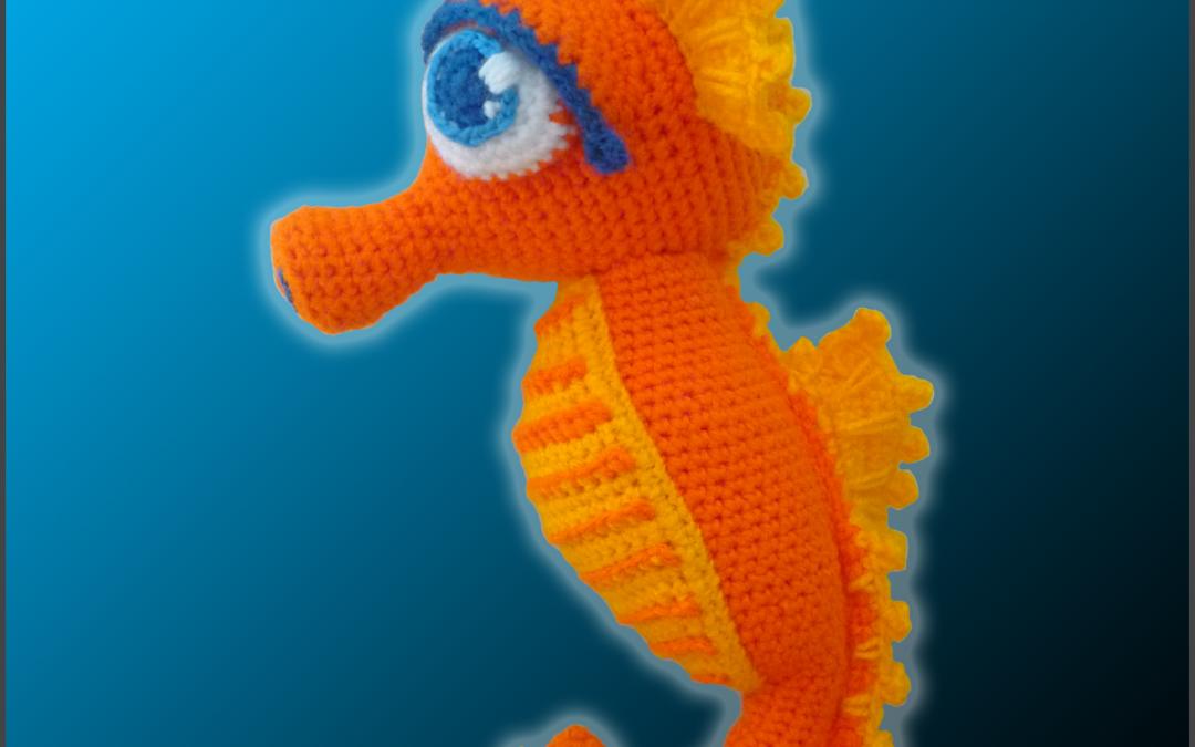 Seamus, The Seahorse – Amigurumi Pattern