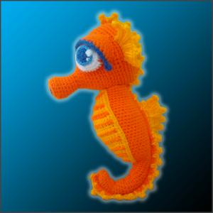 Cavalluccio Marino Amigurumi | How to crochet a Seahorse - YouTube | 300x300