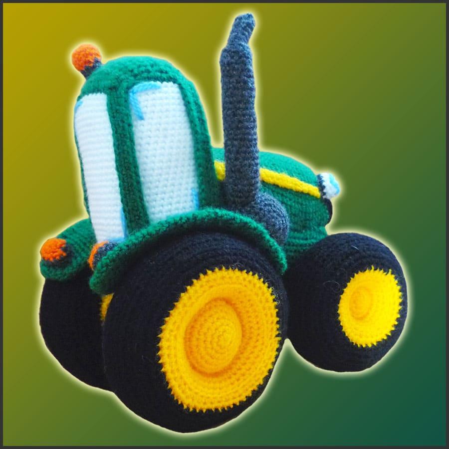 Joseph The Tractor Amigurumi