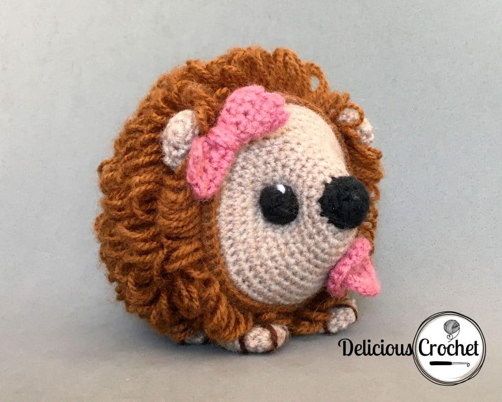 Baby Porcupine Amigurumi Pattern