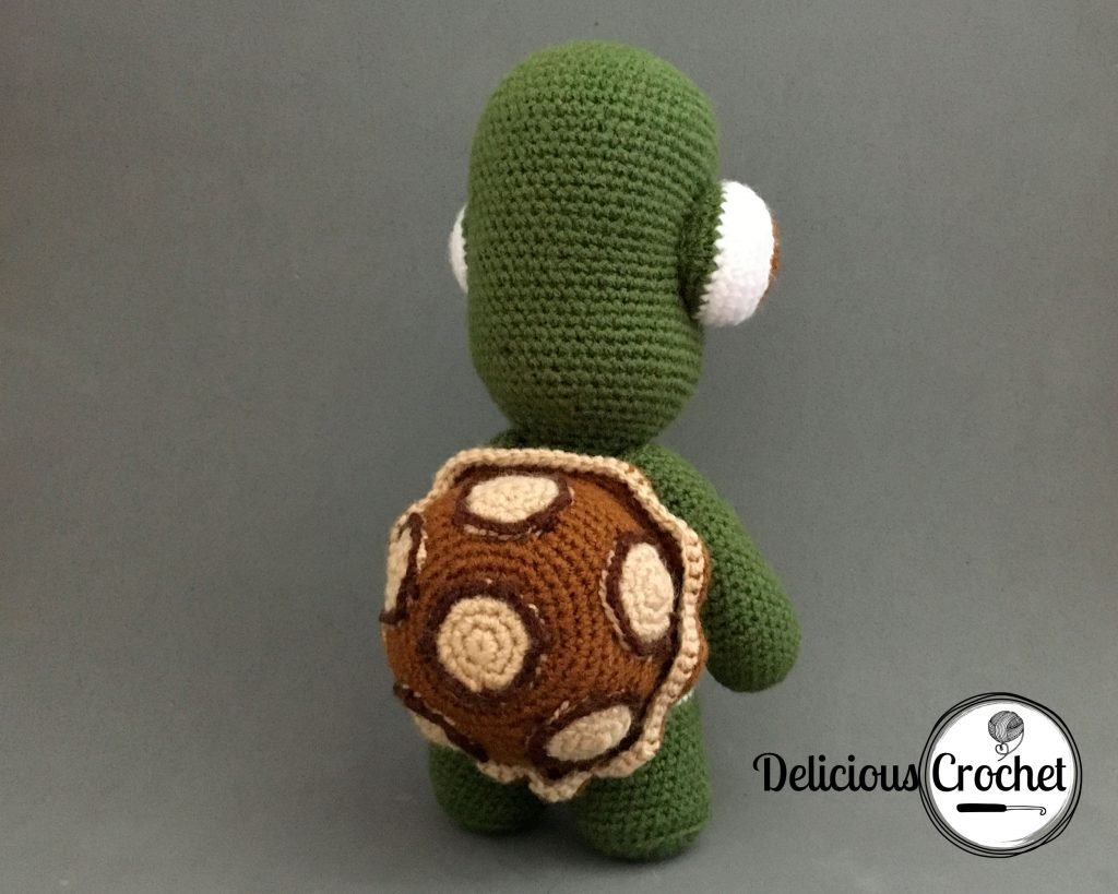 Theo The Turtle Amigurumi Pattern