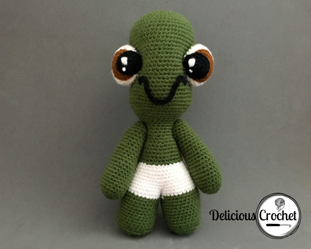 Theo The Turtle Amigurumi Pattern